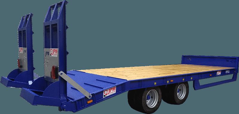 tandem axle<br>low loader