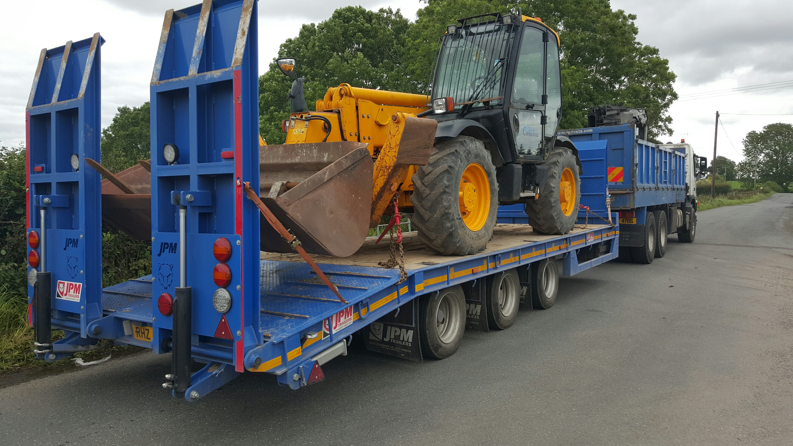 Drawbar Low Loader