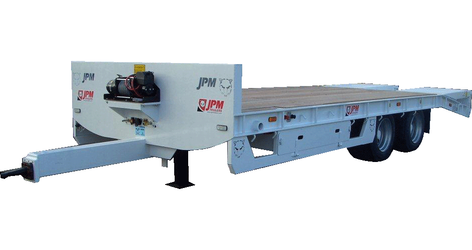 drawbar <br>low loader