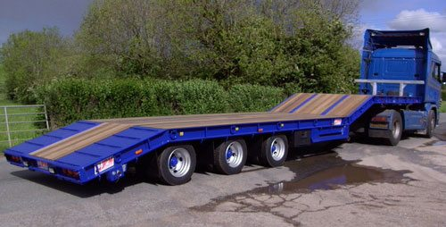 Step Frame Low Loader